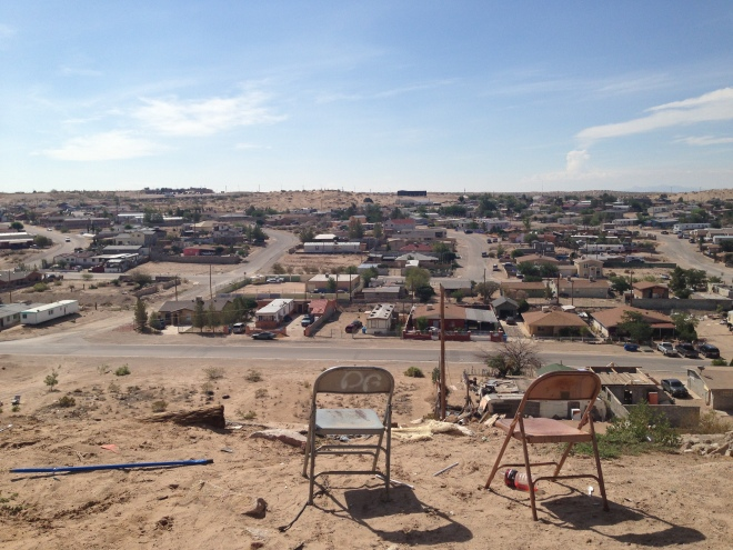 Vista of an El Paso colonia (Vandewalle 2013)